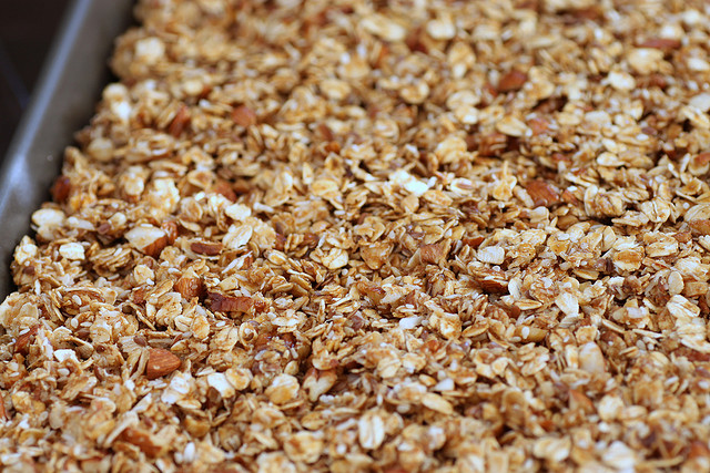 Learn how to make homemade healthy granola!