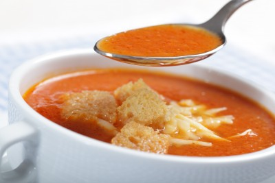 Learn how to make hearty tomato soup!